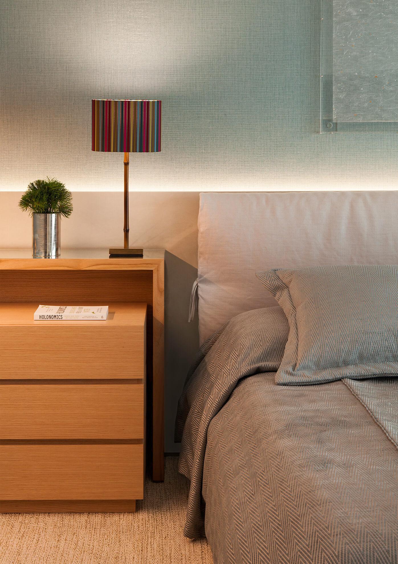 Dormitório de casal - arquitetura e decoração