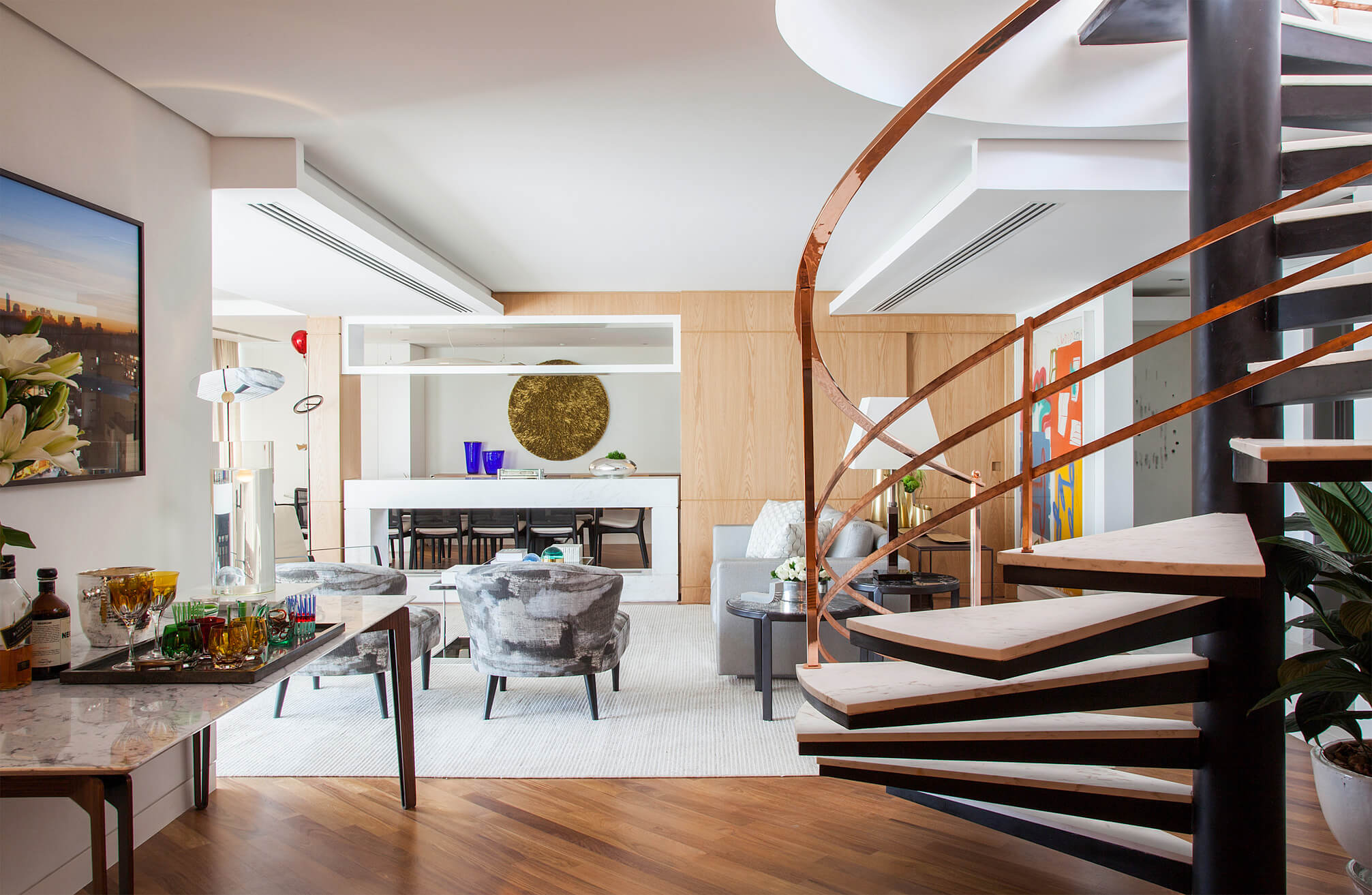 Arquitetura para projetos de interiores de coberturas São Paulo