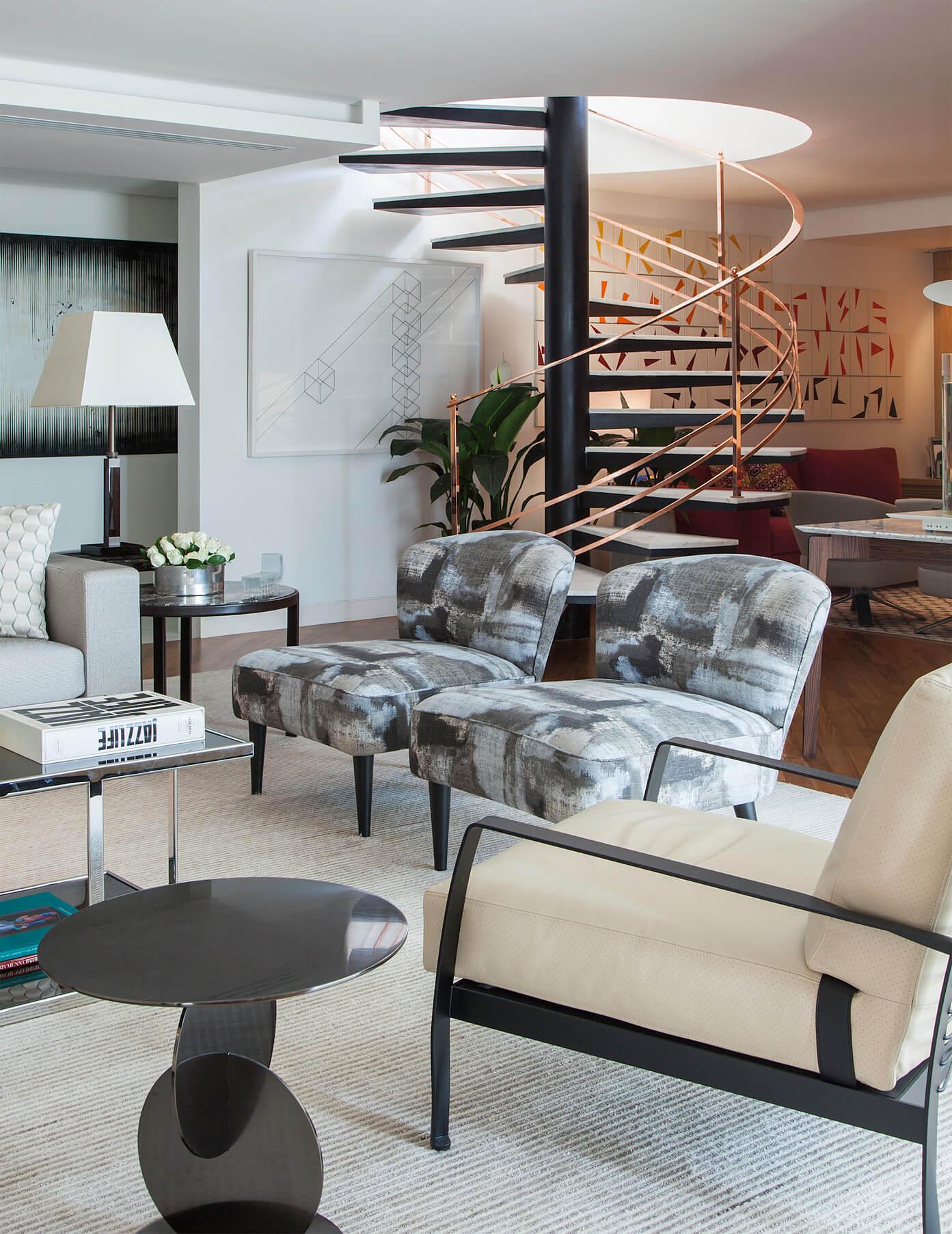 Living - Projeto de Decoração para apartamento em São Paulo
