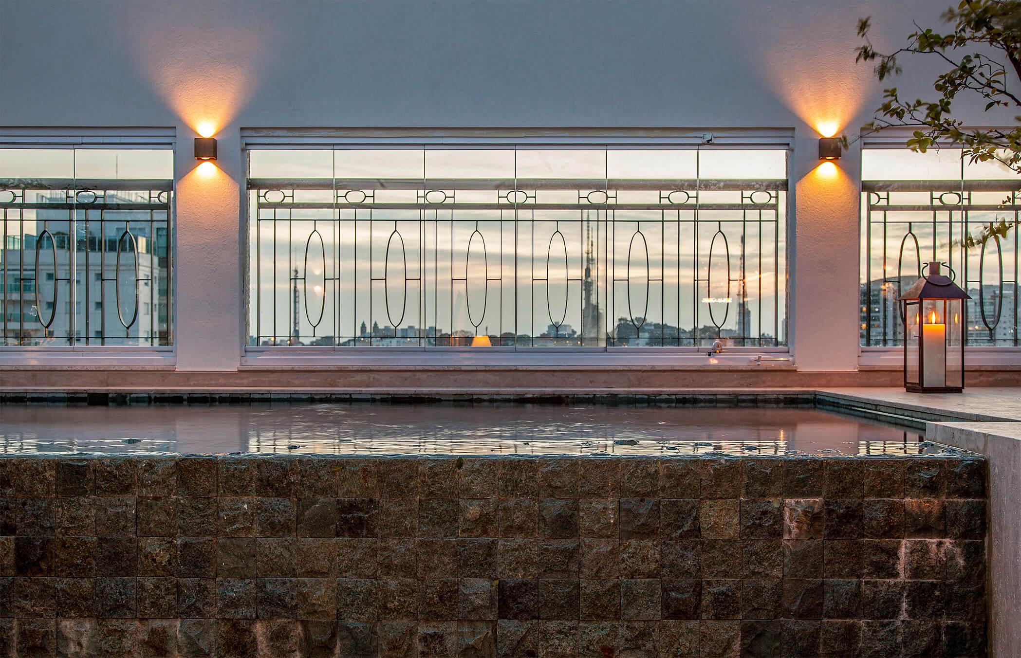 Piscina da Cobertura - Arquitetura e Decoração Apartamento