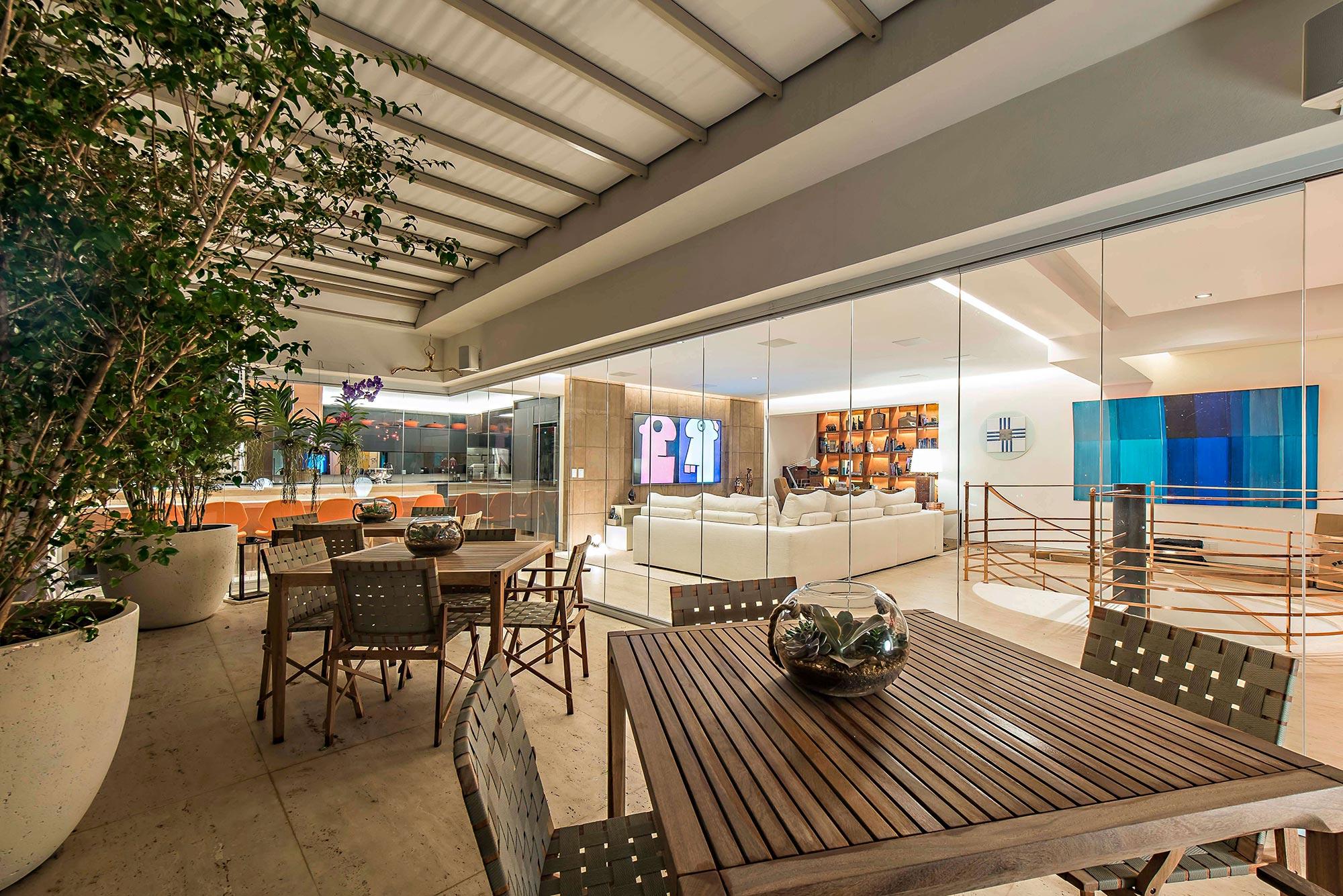 Projeto de Interiores para cobertura - Arquitetura e Decoração
