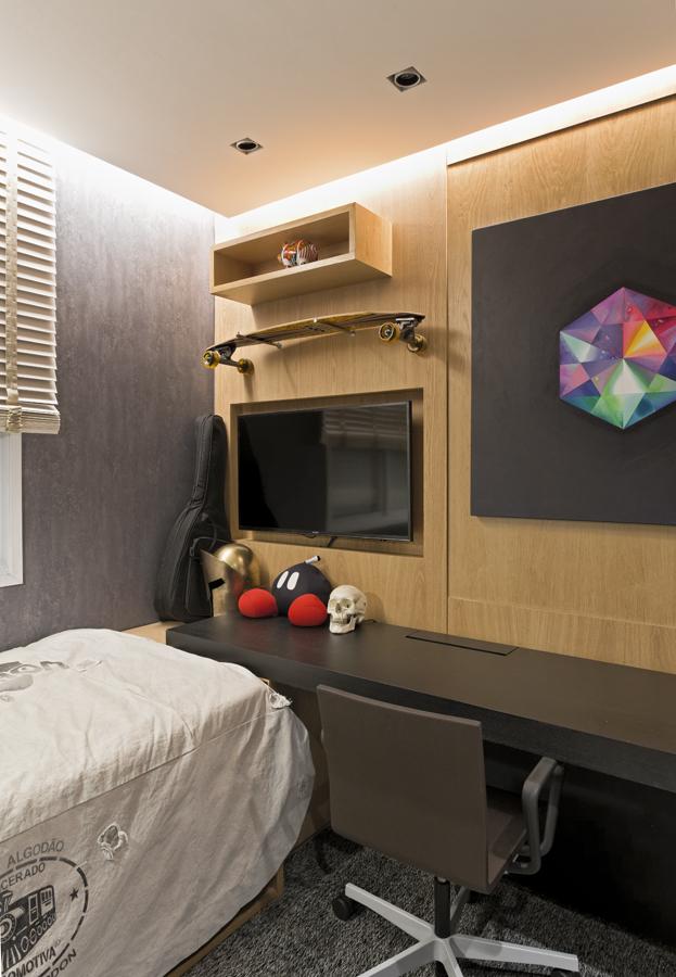 Projeto de interiores para quarto de menino