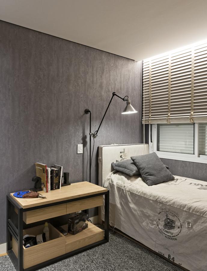 Projeto de decoração de interiores para quarto de menino