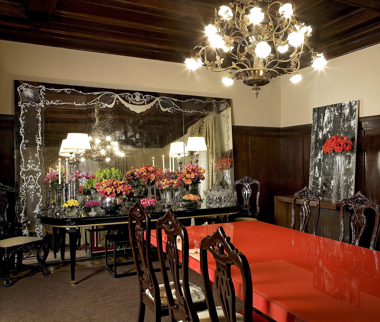 Mostra de Decoração Casa CAD 2007 Sala de Jantar | Casa das Rosas 01