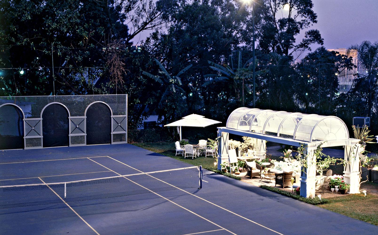 Mostra de Decoração Casa Cor 1995 - Quadra de Tênis 01