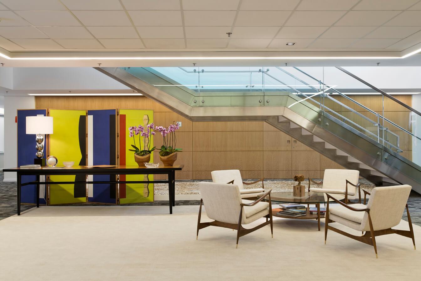 Escritório de decoração de interiores para empresas