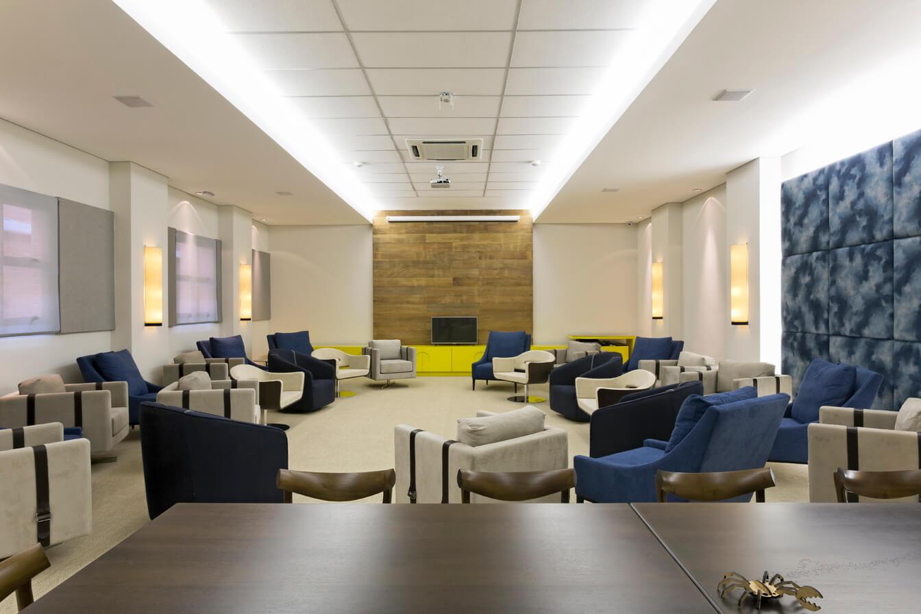 Projeto de Arquitetura e interiores para coworking SP