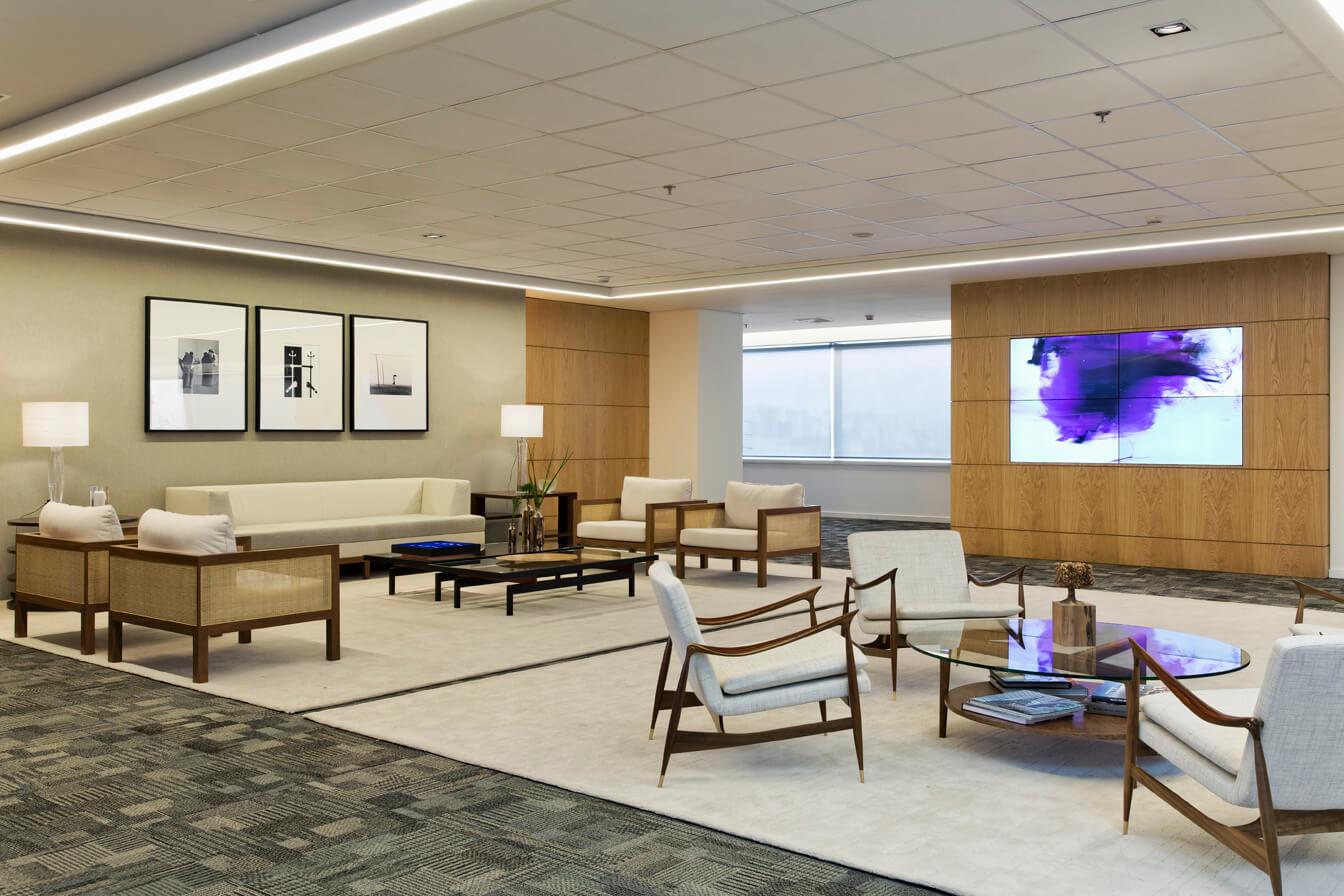 Projeto de Arquitetura e Interiores para empresa