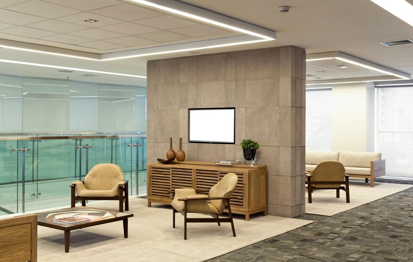 Planejamento e execução de obras para escritórios comerciais