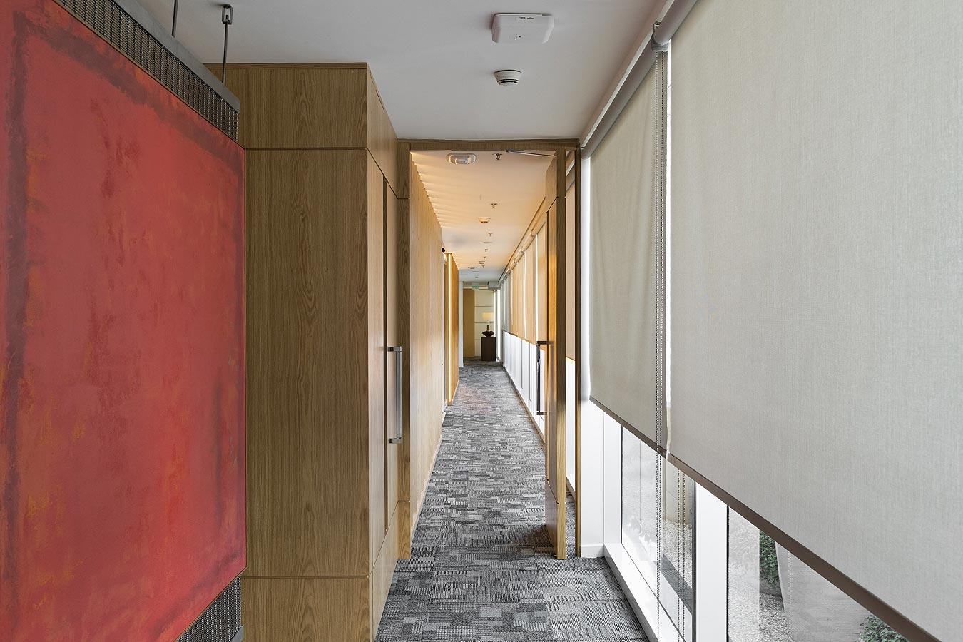 Arquitetura de interiores para escritórios sofisticados modernos