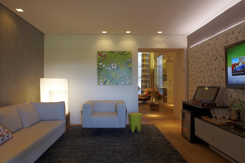 Casa Cor 2011 - Suíte de Hotel para Neymar