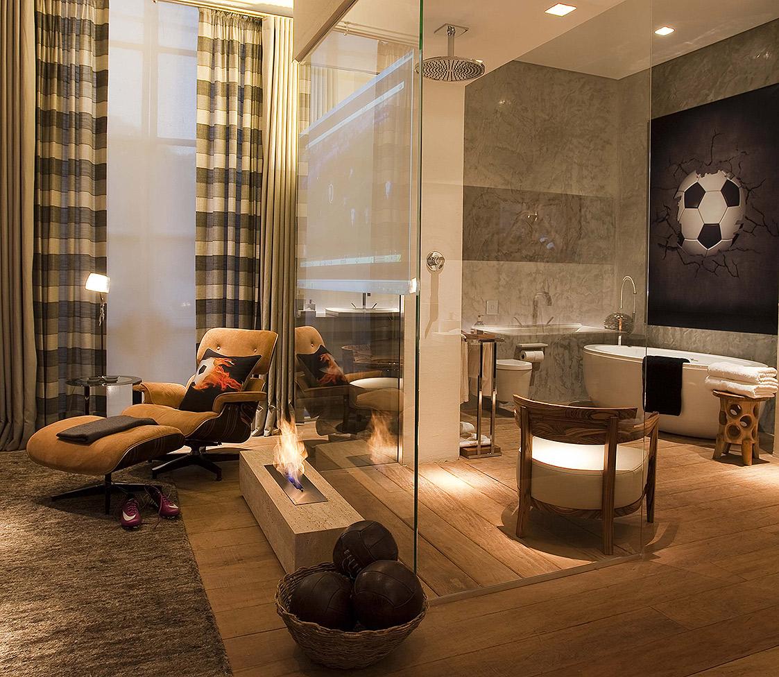 Casa Cor 2011 - Suíte de Hotel para Neymar 06