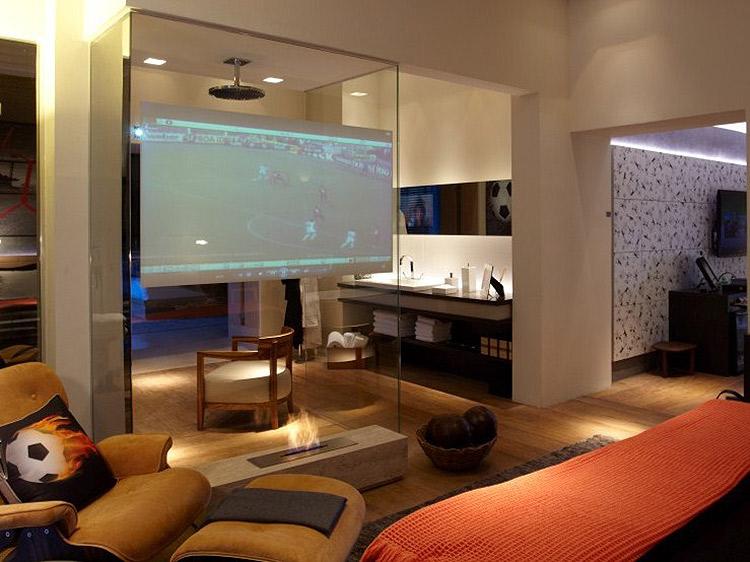 Casa Cor 2011 - Suíte de Hotel para Neymar 12