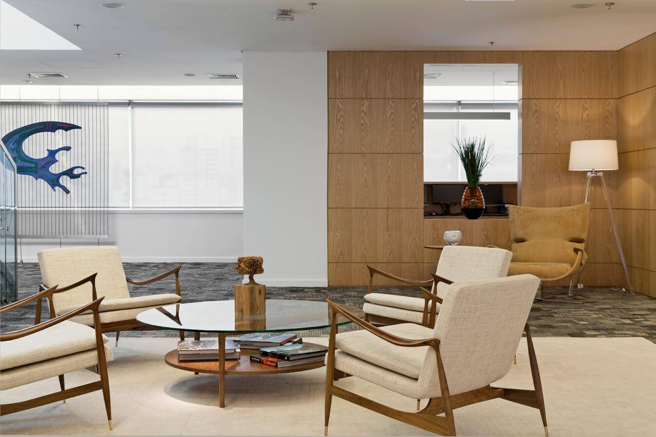 Projeto de Arquitetura para grandes espaços em empresas