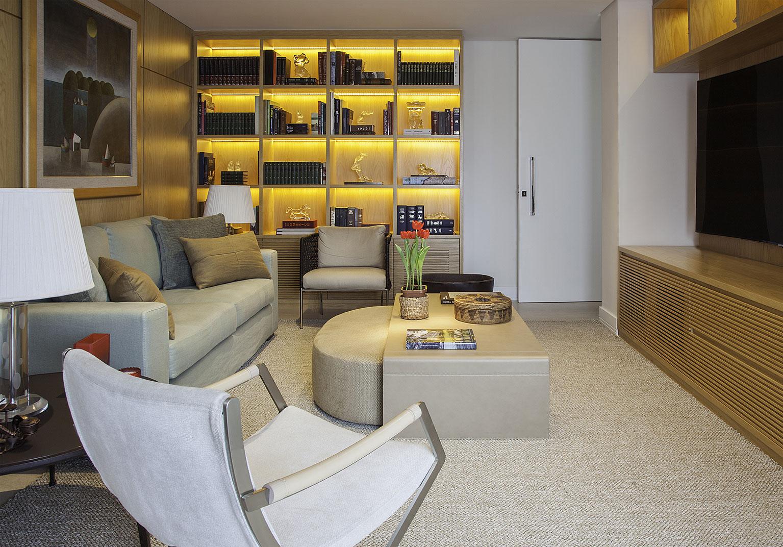 Decoração de Interiores - Sala de TV